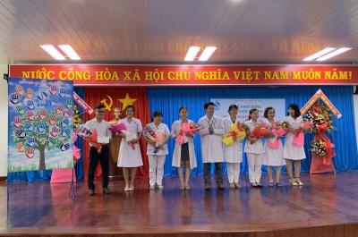 bệnh viện sản-nhi tỉnh phát động ngày hội vệ sinh tay năm 2020
